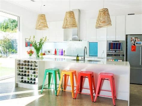 colorful bar stools that will make a statement