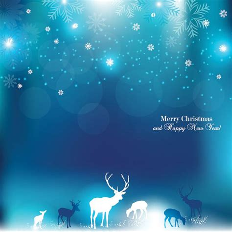 background natal merah free vector elegant blue christmas background with rein on