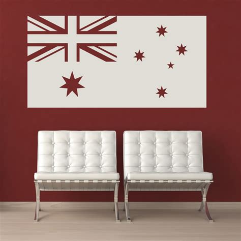 wall stickers australia australian flag australia rest of the world wall stickers
