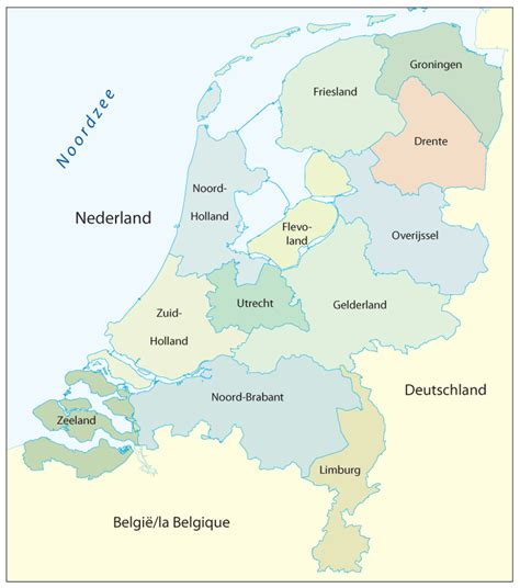 netherlands map provinces netherlands map with provinces images