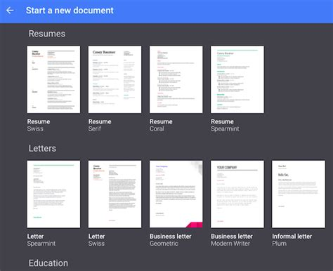 google docs templates fotolip com rich image and wallpaper