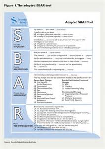 Sbar Template by Using Sbar To Communicate Falls Risk And Management In