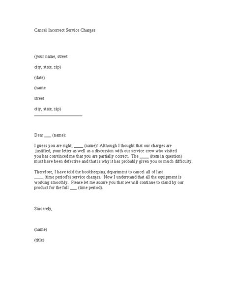 cancellation letter to 13 sle cancellation letters sle letters word