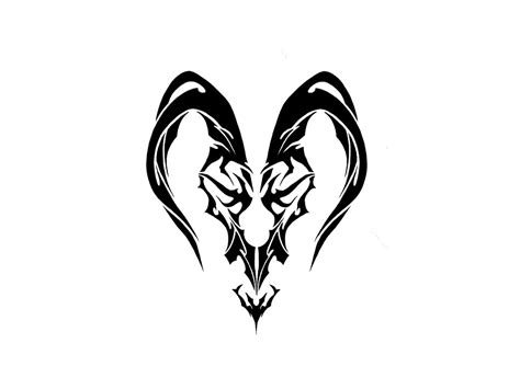 capricorn tribal tattoos capricorn tattoos designs ideas and meaning tattoos for you