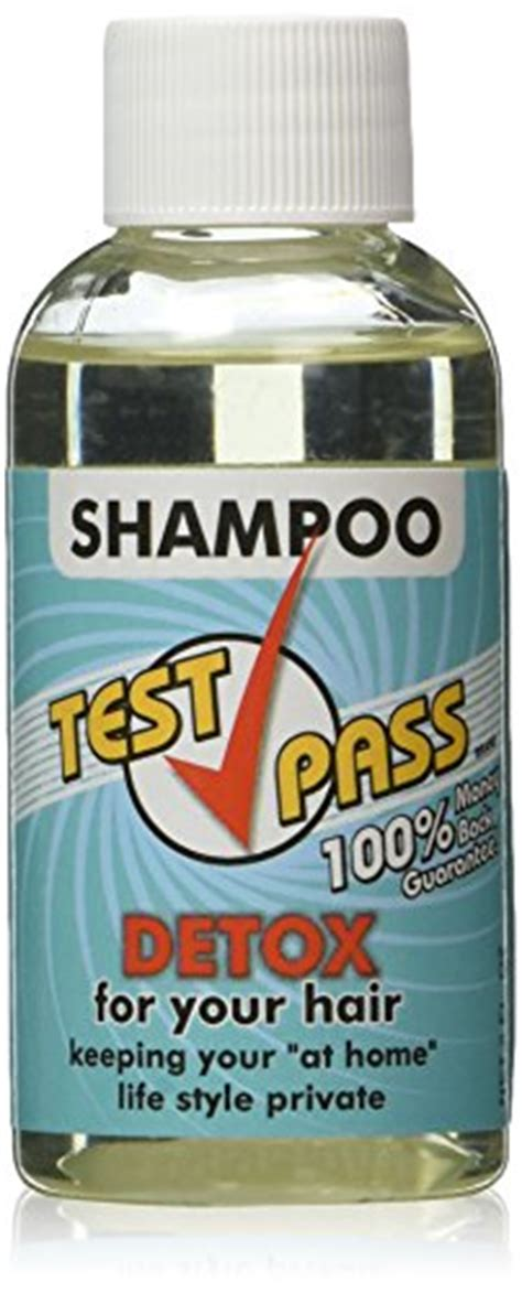Best Hair Detox Shoo For Test by Test Pass Detox Shoo Single Use Net 2 Fl Oz