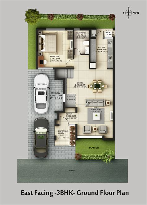 3 bhk floor plan casa grande neona sarjapur road bangalore casa grande private limited