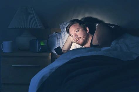 how to be on top in bed not so smart phone usage before bed gevity