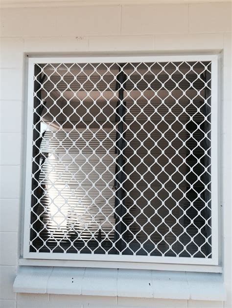 grille security window screen glass louvres