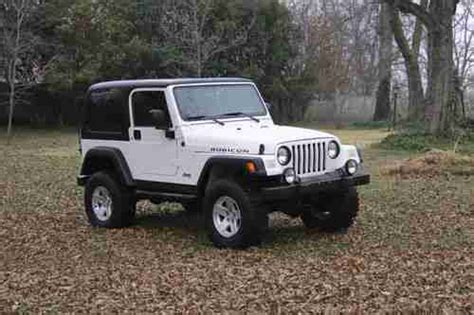Best Jeeps To Buy Buy Used 2006 Jeep Rubicon Jeep Rubicon 4x4 Top