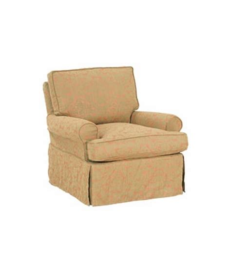 slipcovered swivel rocker casual slipcovered swivel glider accent chair club furniture
