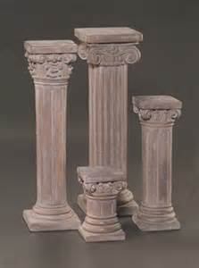 The Pedestal Company Al S Garden Corinthian Pedestal Small
