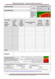 basic dynamic risk assessment template fill online