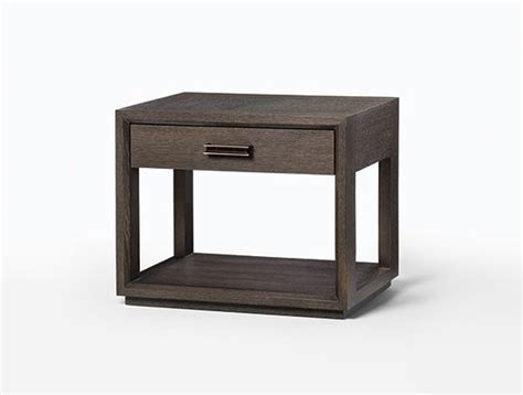 bedside table height relative to bed wyeth bedside table 30x20x24 75 holly hunt dressers