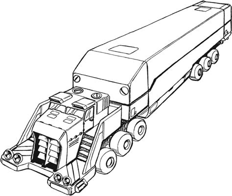 Truck Coloring Pages Wallpapers Photos Hq For Kids Semi Truck Coloring Pages