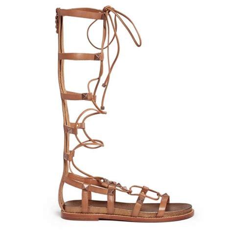camel gladiator sandals buy ash miracle gladiator sandals camel leather copper
