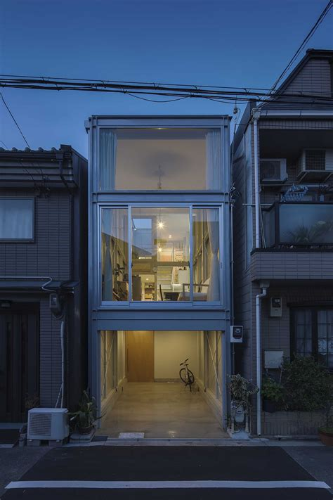 narrow homes 2018 kakko house a family home in osaka that s just 11 wide