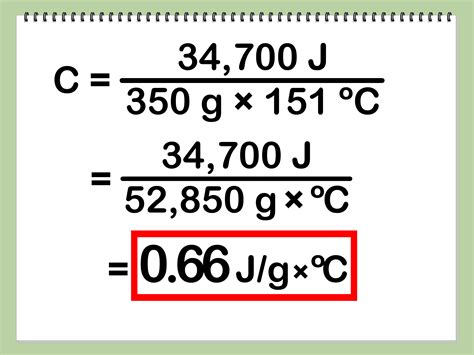 How To Find Specific On How To Calculate Specific Heat With Calculator Wikihow