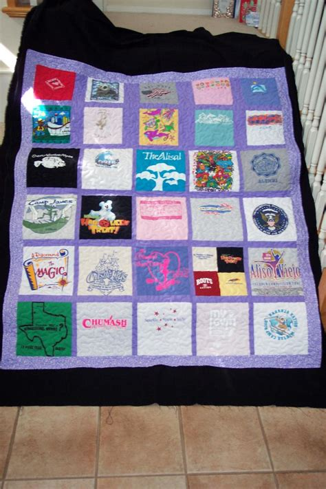 T Shirt Memory Quilts by Keepsake Ribbon Quilts T Shirt Memory Quilts