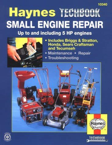 small engine repair 5 horsepower and less haynes techbook manual