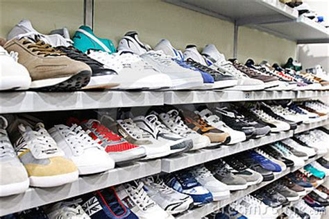 different types of sport shoes different brands of sport shoes editorial stock photo
