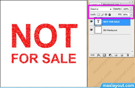 Not For Sale For Listing Only 002 tip maxlayout photoshop ประท บตราด วย dissolve