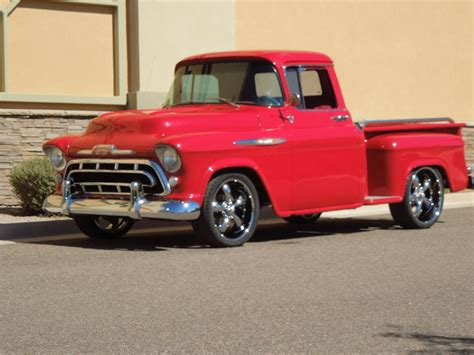 1957 chevy stepside pick up 1957 chevrolet 3100 pickup 138148