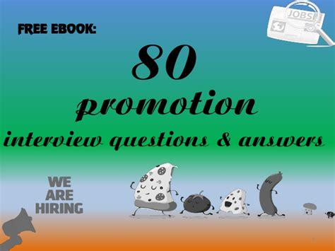top 10 promotion questions with answers
