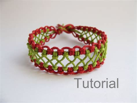 Simple Macrame Bracelet Patterns - macrame bracelet pattern tutorial pdf