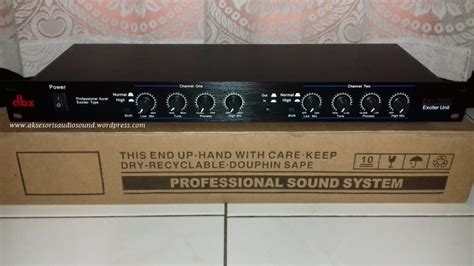 Harga Efek Equalizer dbx aksesoris audio sound system rakitan murah berkualitas