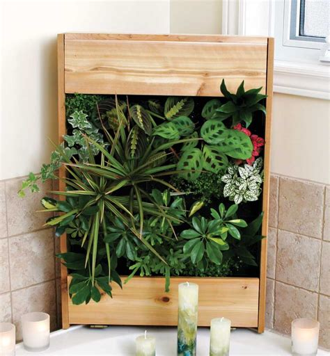 Vertical Wall Garden Kit Fresh Finds Vertical Gardening Systems