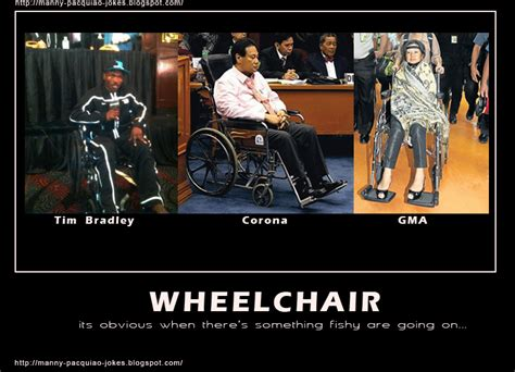 Wheel Chair Jokes tim bradley in wheelchair sounds familiar manny pacquiao jokes