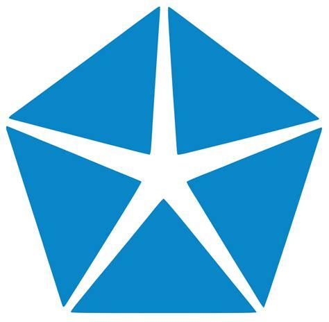 Chrysler Pentastar Logo file chryply blue pentastar svg wikimedia commons
