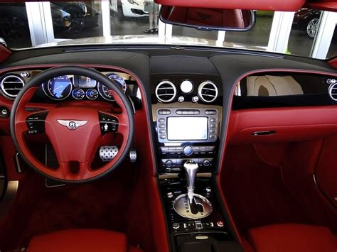 2009 bentley continental gt red 200 interior and exterior images