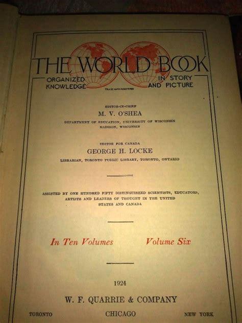 Encyclopedia Americana Set 30 Jilid value of 1924 world book encyclopedia thriftyfun