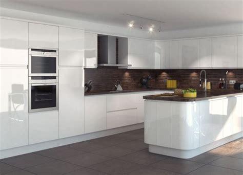 kitchen small white trends with beautiful modern gloss cabinets images tv unit entertainment кухня в бял гланц тайните на един хармоничен дизайн интериорен дизайн