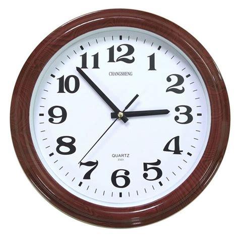 decorative wall clocks battery operated bekith 12 quot retro non ticking silent quartz decorative wall