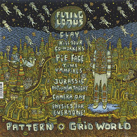 pattern grid world flying lotus flying lotus pattern grid world lp warp 中古レコード通販
