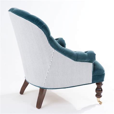 tufted bedroom chair hazel petite tufted chair by the beautiful bed company