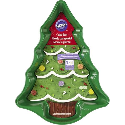 christmas tree cake pan wilton