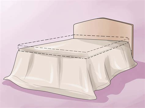 how to make a bed skirt how to make a bed skirt 12 steps with pictures wikihow