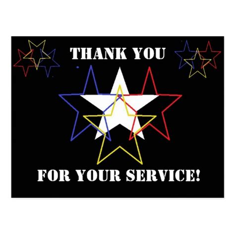 your service thank you for your service zazzle