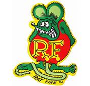 RAT FINK LARGE EMBROIDERED BACK PATCH  Sourpuss Clothing
