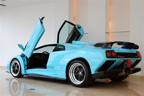 Blue Lamborghini For Sale Blue 2001 Lamborghini Diablo Gt For Sale In Japan