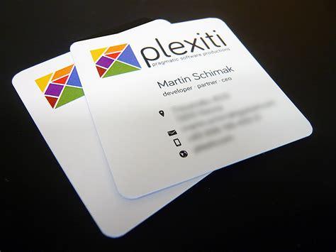 Quadratische Visitenkarten Online Drucken by Elegante Rechteckige Und Quadratische Visitenkarten Mit