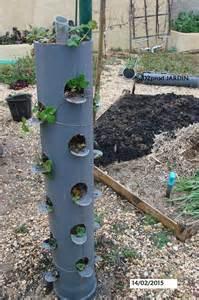 le jardin vertical aux fraises canalisation de