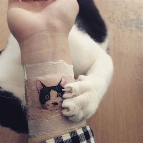 150 cutest cat tattoos and meanings april 2018
