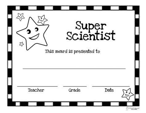 student award template certificate templates