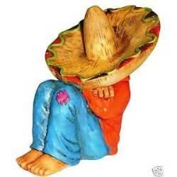 Ceramic Pedestals Mexican Man Having A Siesta 11cm N E W Ebay Sculpture