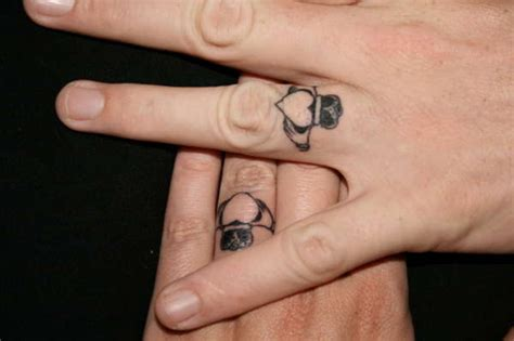 ring finger tattoos for couples tattoo ideas mag