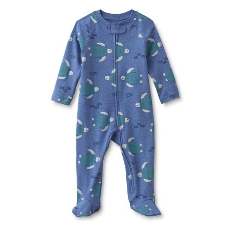 Boys Footed Sleepers by Wonders Newborn Boy S Footed Sleeper Pajamas